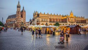 Cracovia città antica